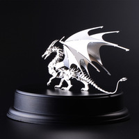 Finger Rock 3D Dragon Metal Puzzles Stainless Steel Dragon Model Toys DIY Educational Assembly Jigsaws Toys