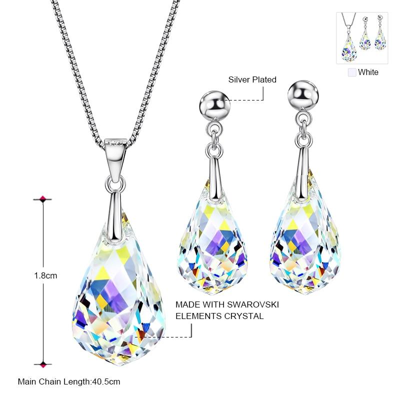 Neoglory Smycken Set Gjorda med SWAROVSKI ELEMENTS Crystal - Märkessmycken - Foto 3