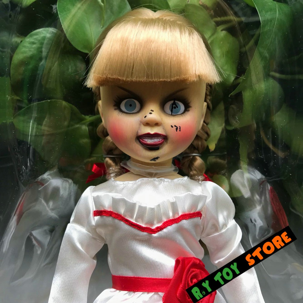 ROLECOS Halloween Girl Halloween Dress Doll Annabelle Cosplay
