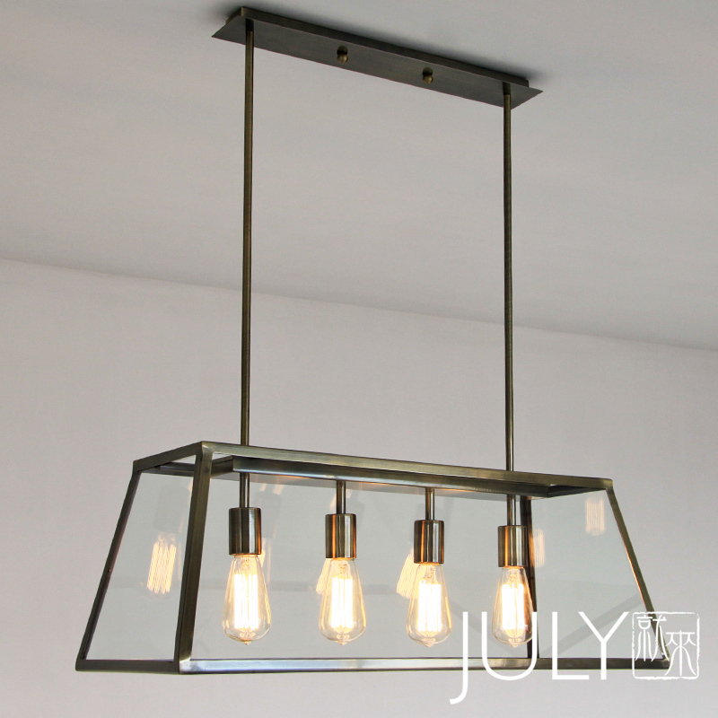 JULY Came Minimalist Scandinavian Style Warehouse Industrial Designer Lamps  Loft Living Room Dining Room Chandelier Window In Chandeliers From Lights  ...