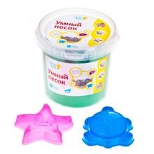 Набор для детского творчества «Умный песок» Зелёный 1 кг.