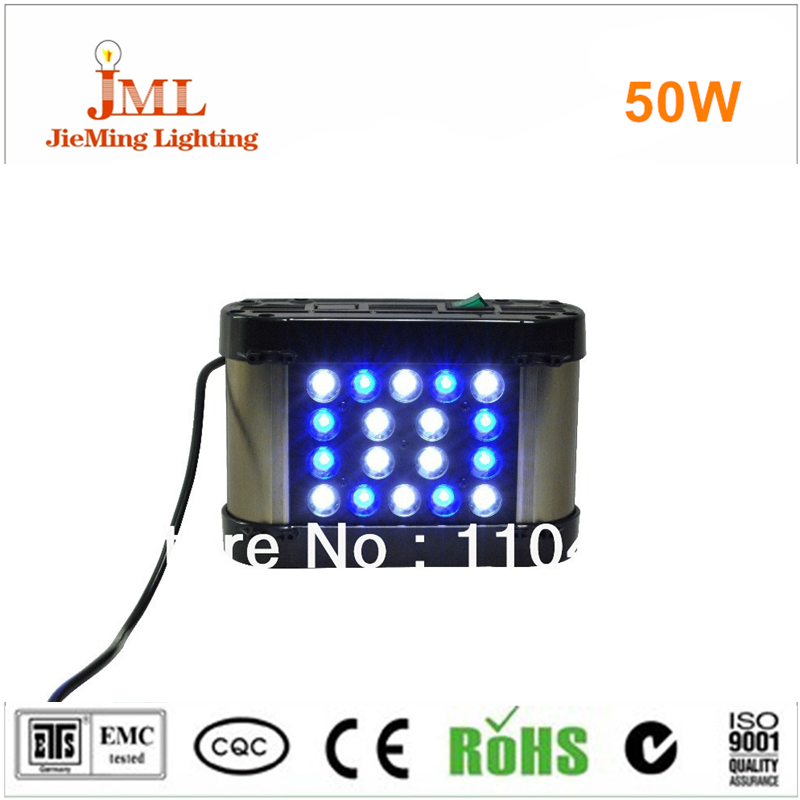 2017 Hot sales!! LED aquarium light Led reef coral tank light 50W remote controller dimming for Coral Reef Benthon tank light 100w lumia 5 1 diy aquarium led light sunrise sunset dimmable led aquarium light 100w remote auto dim coral reef led lighting