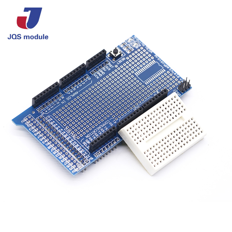 Breadboard 170 Tie Point Mini Prototype PCB Solderless With Hole+Jumper Wire A0