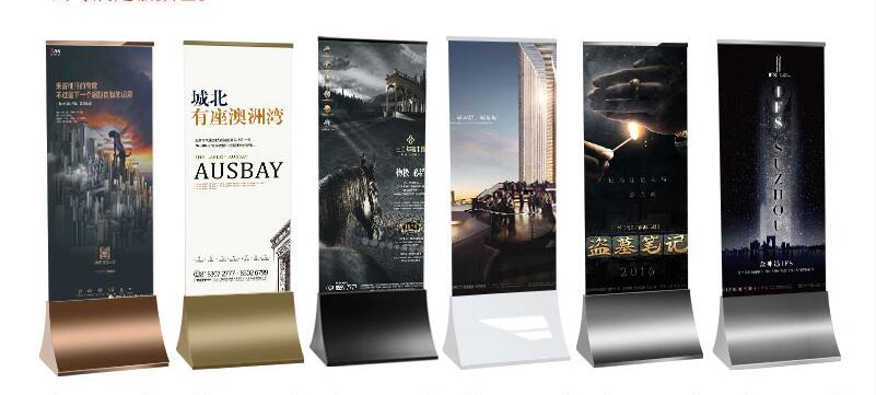 Advertising Display Stand Guide Sign Indicating Vertical Display Stand LIYONG Poster Stand Advertising Rack Suitable for Shopping Mall Hotel Store Restaurant Hospital Advertising D for Signage