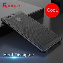 Ультра тонкий телефон чехол для Huawei p9 P10 Lite рассеивания тепла Чехол Жесткий PC задняя крышка для Huawei P10 плюс чехол Coque