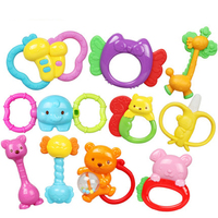 Educational Musical Baby Toys Handbell Kids Teether Rattle Mobility On The Bed Cute Baby Toy 0