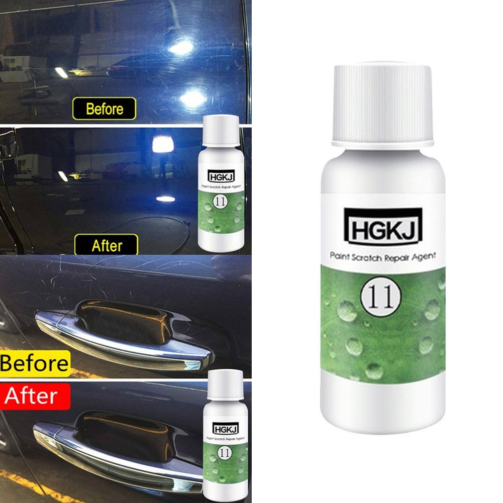 Glorious New 20/50ml Car Paint Coating Hgkj-11 Scratch Repair Remover Agent Coating Auto Care Polishing Wax Csl2018 Car Wash & Maintenance