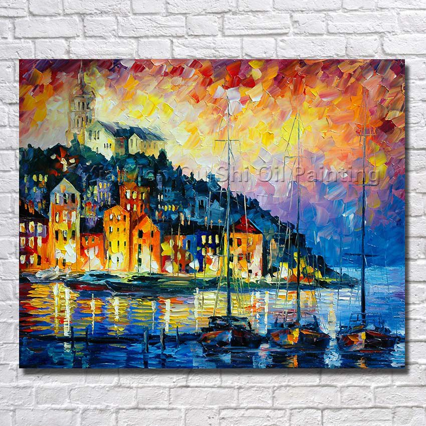 Free shipping wholesale framework oil paintings beautiful for Oil paintings for the home