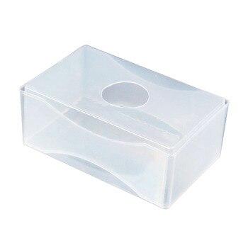 SOSW 10 X Carte De Visite Boite En Plastique Titulaires Effacer Artisanat Perles Stockage Conteneurs Boites Blanc