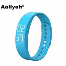Aaliyah T5 Bluetooth Smart Wristband Watch Bracelet Sports Fitness Tracker Pedometer Waterproof Compatible iOS xiaomi Android недорого