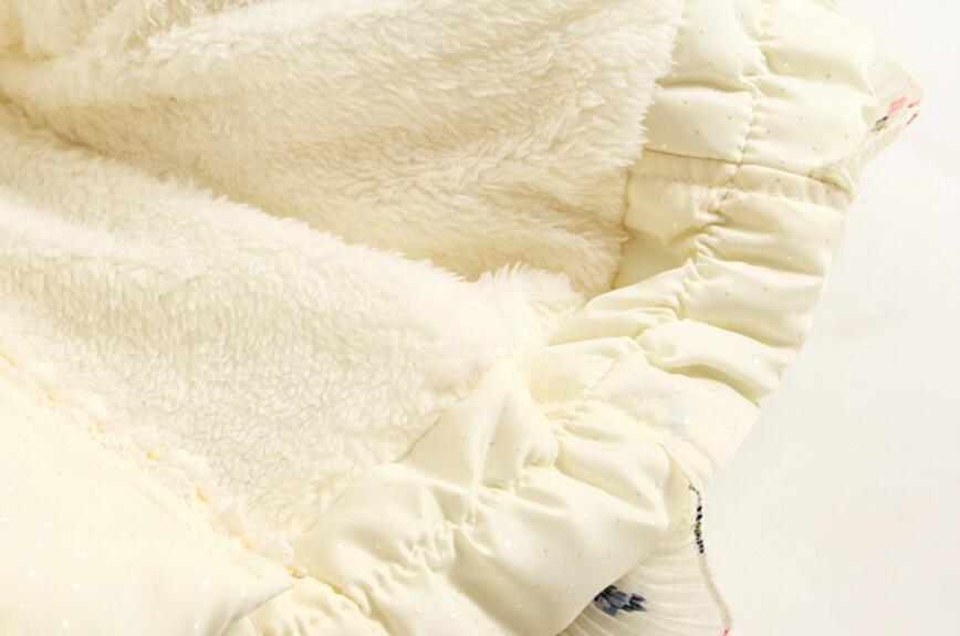 Nye Smukke Børn Piger Vintercoat Print Små Polka Dot Duck Down - Børnetøj - Foto 6