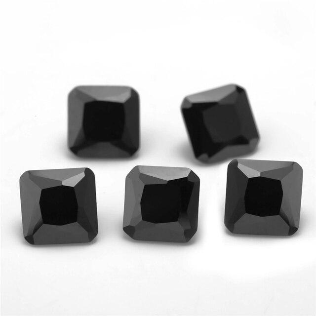 Размер 3x3 ~ 10x10 мм квадратная форма восьмиугольника Принцесса