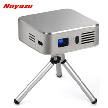 Noyazu Android 4.4 DLP Pico Video Projector 4000 mAh 150 inches Large Screen Bluetooth Wifi Home Theater Portable Pocket Beamer