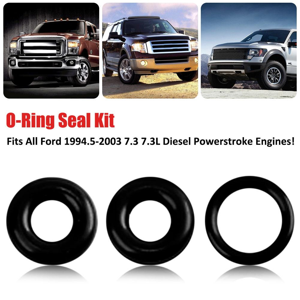 powerstroke fuel filter bowl drain valve viton o ring seal kit fits all ford 1994 5 2003 [ 1001 x 1001 Pixel ]