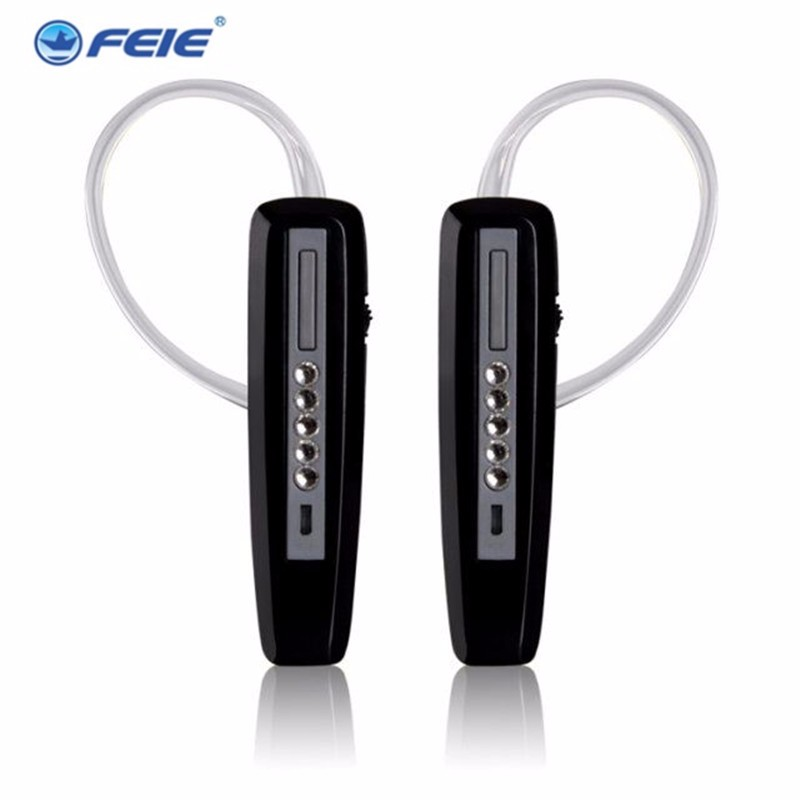 FEIE Rechargeable Hearing Aid Earphones S-101 bluetooth style Behind Ear Sound Amplifier USB Charger Free Shipping