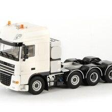 Сплав модель подарок WSI 1:50 Масштаб DAF XF 105 супер космическая кабина 8x4 грузовик трактор транспортных средств литье под давлением игрушка подарок, коллекция, украшения
