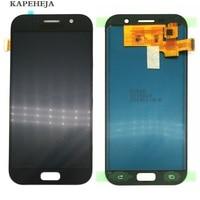 Puede ajustar el brillo LCD para Samsung Galaxy A5 2017 LCD A520 SM-A520F pantalla LCD MONTAJE DE digitalizador con pantalla táctil