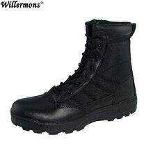 2017 Открытый армейские ботинки мужские военные пустыне тактические ботинки обувь осень дышащие армейские ботильоны Botas tacticos Zapatos