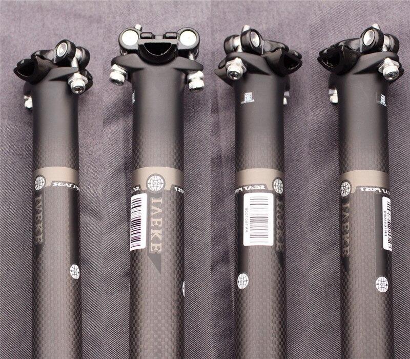 2016 IVEKE carbon MTB road bike lightweight seat tube bicycle seatpost carbon fiber tube Bike seatpost 27.2 30.8 31.6 MM choose mtb bike seat post 31 6 mm bike titanium seatpost 27 2 400 mm road bicycle saddle tube bike accessory