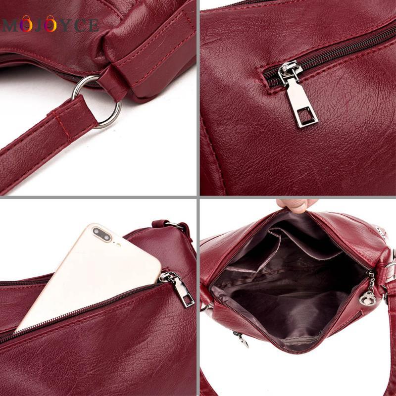 Luxury Handbags Women Bags Designer Elegant Office Ladies PU Leather Shoulder Bag Vintage Female Bolsa Feminina 6