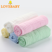 6 Layers Muslin Baby Swaddler Blanket Cotton Scarf Infant Summer/Autumn Stroller Quilt 43x43inch Animals