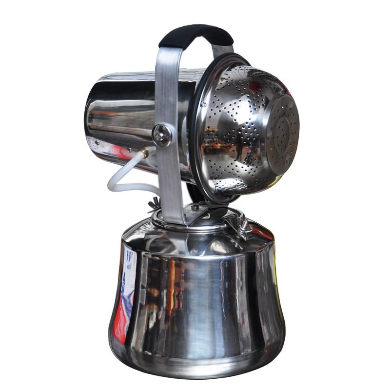 220 V elétrica Agrícola Fogger ULV nebulizador atomizador de aço inoxidável Mosquito assassino desinfecção Droga pulverizador 5.5L 1200 W Y