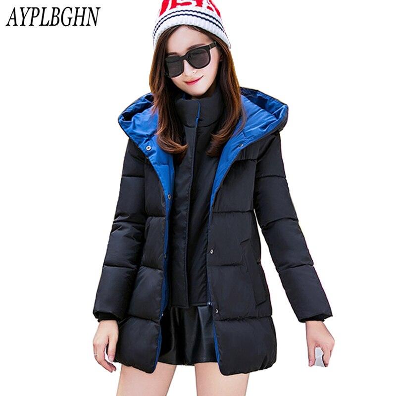 Winter style Jacket Women 2017 Winter Wear High Quality Parkas Winter Jackets Outwear Women Long Coats Plus size clothing 7L31 fugoo style jacket