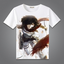 Attack on Titan Summer Fashion T-shirt Cotton