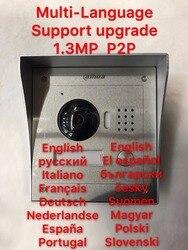 Includes Surface box or Flush box,Dahua VTO2000A IP Metal Villa Outdoor Station intercom Video Door Phone