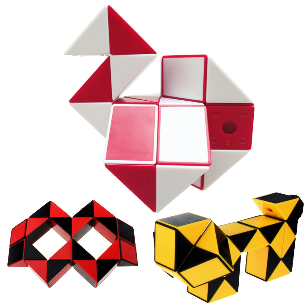 Toys & Hobbies Puzzles & Games Humble 24 Segments Snake Cubes Creative Shengshou Twenty-four Parts Magic Ruler Puzzle Cube Toy For Kids Cubo Megico Fixing Prices According To Quality Of Products