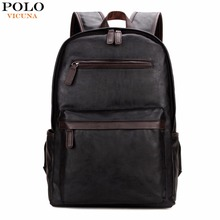 VICUNA POLO New Arrival Large Computer Bags Men Casual Daypacks Blue/Black Mens Laptop Backpacks Trendy Casual Mens Backpack Hot
