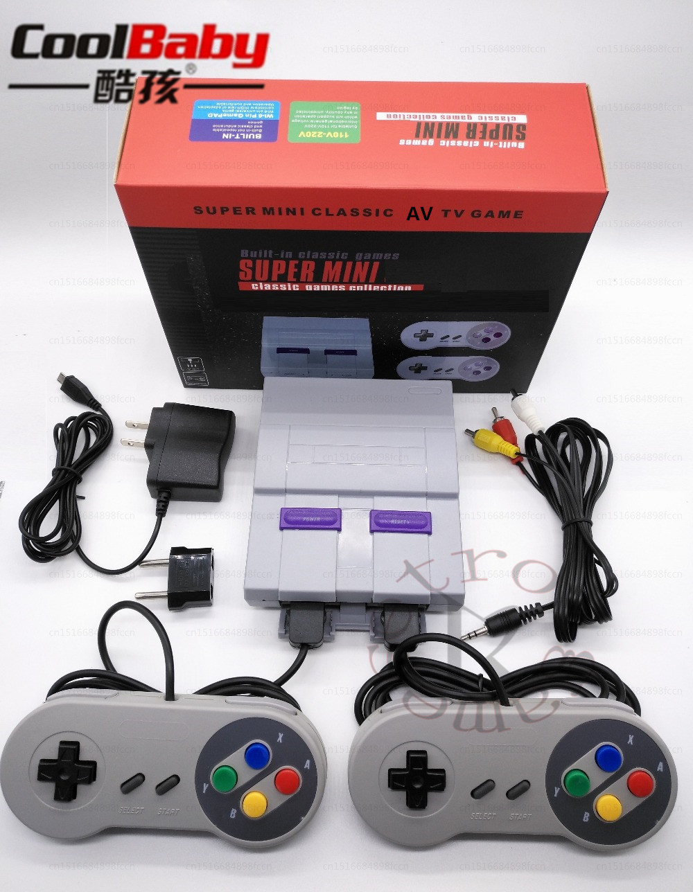 For Snes 16 Bit Games!! Retro Mini TV Video Game Console with 94 Built-in Different 16 Bit Games For Snes Two Gamepads AV OutFor Snes 16 Bit Games!! Retro Mini TV Video Game Console with 94 Built-in Different 16 Bit Games For Snes Two Gamepads AV Out