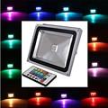 colors change remote lamp Integrate 30W 2900 LM rgb Remote-Controlled Flood Lights AC 85-265 V led bulb