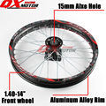 "Dirt bike Front Wheels 1.40x14""inch Alloy Rim For KAYO BSE Apollo Xmotos CRF KLX TTR 50 110 125 140 160cc Pit Bike Spare Parts"