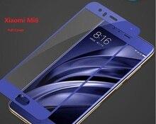 Mofi для xiaomi mi6 закаленное стекло для xiaomi mi 6 экран протектор фильм полное покрытие xiomi m6 ми-6 синий закаленное стекло 5.15″