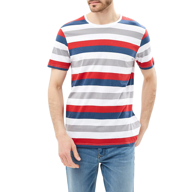 T-Shirts MODIS M181M00193 t shirt shirt cotton for male TmallFS zigzag single pocket t shirt