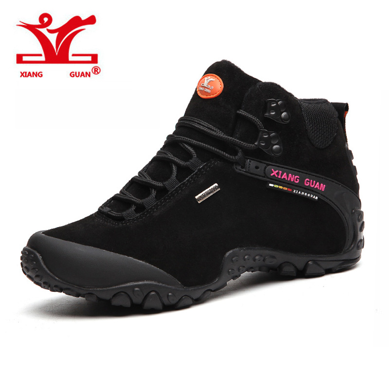 XIANGGUAN Men Trekking Shoes Brand Hiking Shoe Women Waterproof Walking Sneakers Man Outdoor Hunting trail slip resistant 2016 man women s brand hiking shoes climbing outdoor waterproof river trekking shoes