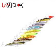 6pcs pack 25g 95mm big pencil lure sea bass salmon wobbler far