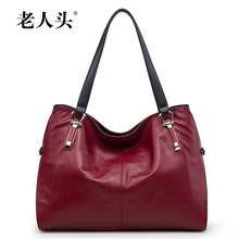 LAORENTOU famous brands women bag 2016 new genuine leather bag quality fashion women handbags shoulder bags