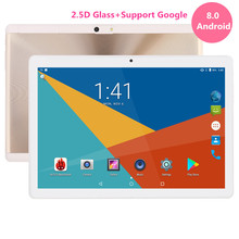 Google Play Store Android 8.0 OS 10 inch tablet Octa Core 3G 4G FDD LTE 4GB RAM 64GB ROM Dual Cameras tablet 10 10.1