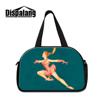 Dispalang Women Travel Bags Overnight Duffel Bag Ice skating Girl Weekend Travel Large Hand Tote Bags Crossbody Travel Bags