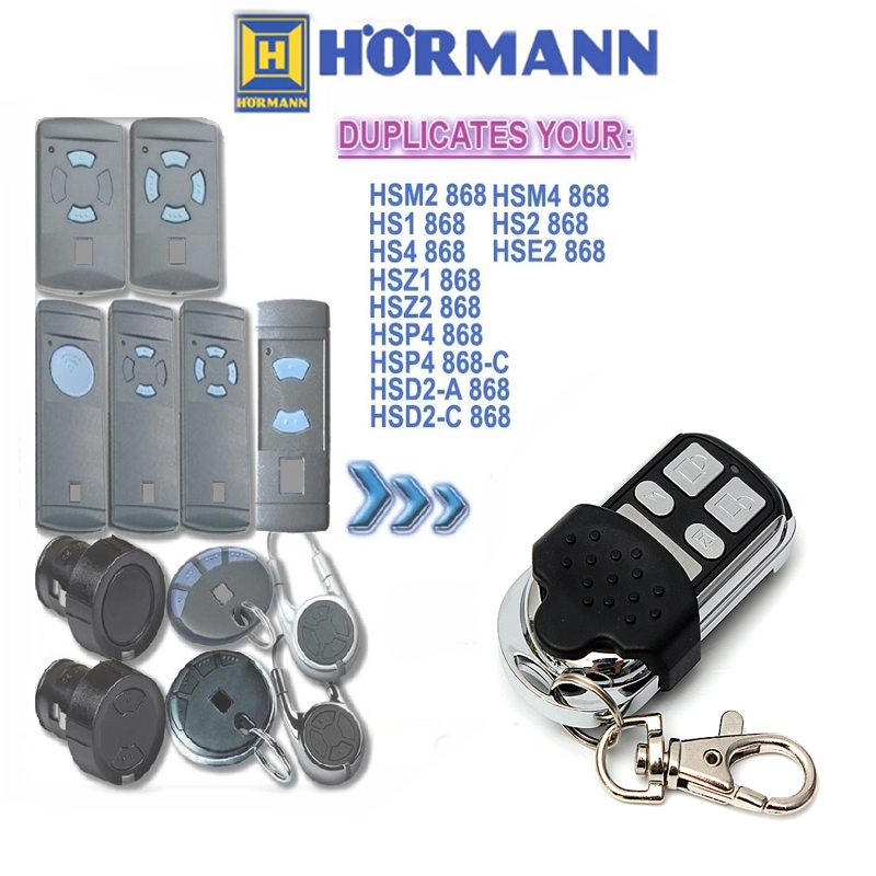 Back To Search Resultssecurity & Protection Self-Conscious 1pcs For Hormann Hsz2 Hsp4 Hsd2 Hse2 Hsm2 Hsm4 868mhz Universal Remote Control Free Shipping Unequal In Performance
