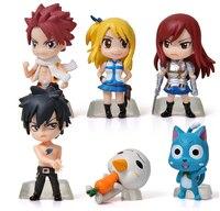 יפן אנימציה יד מודל זנב פיות Lucena Ziha יחס PVC פעולה דמויות צעצועי בובות מתנות 6 יח'\סט לשלוח את הילדים שלהם