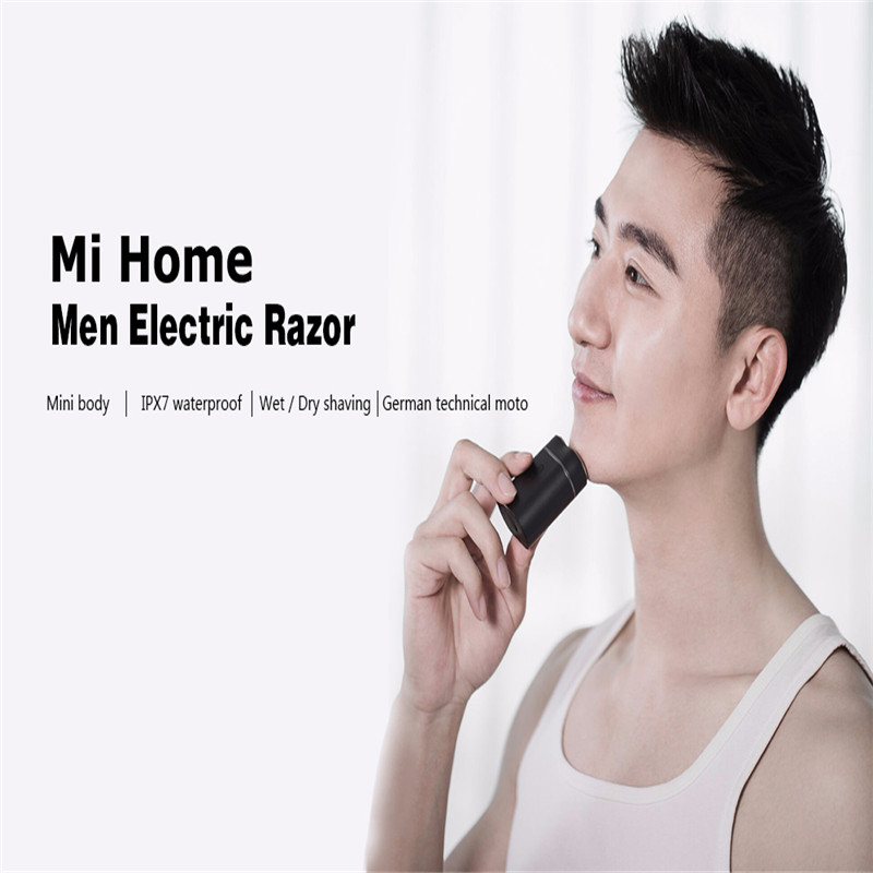 Image 2 - Original Xiaomi Mijia Zhibai Home Electric Shavers For Men Waterproof Wet Dry Shaving Double Ring Blade USB Rechargeable Razor-in Smart Remote Control from Consumer Electronics