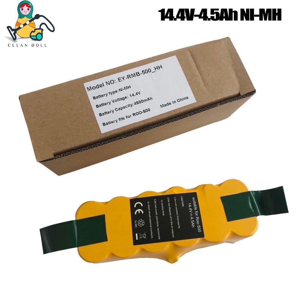 4500 мА/ч, металл-гидридных или никель чистым куклы, запасная батарея, батарея для iRobot Roomba 500 530 555 620 650 700 770 780 880 870 980 батарея roomba