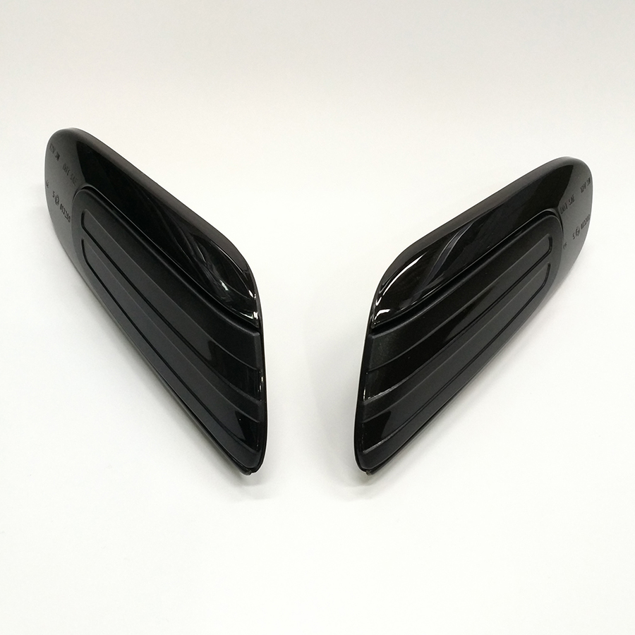 Smoked LED Dynamic Side Wing Turn Signal Indicator Lights For Mini Cooper F56 F55 Mini Cabrio