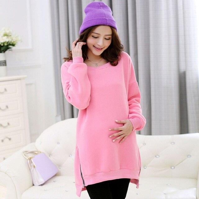 Осень весна беременным одежды для беременных куртки свитер женщины верхняя одежда для беременных одежда для беременных пальто