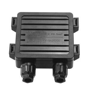 Image 2 - 1 pezzi IP65 Impermeabile Solar Junction Box di Collegamento per il Pannello Solare 50 W 100 W