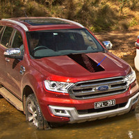 custom for Ford everest endeavour stickers 1pc stire marking cool hood bonnet graphic vinyl scratch ranger car accessories decal