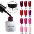 Stylish Red Color Nail Art Nail Polish Gel Lacquer Enamel Liquid Gel Nail Polish Manicure Beauty